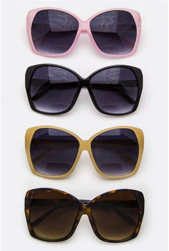 Large Butterfly Sunglasses