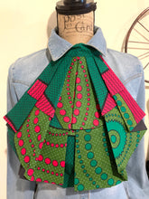 Load image into Gallery viewer, Hot Pink & Green MiREE Neckpiece