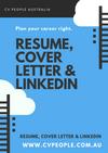 Professionally Written Resume, Cover Letter & LinkedIn Optimisation