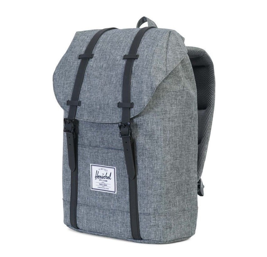 Herschel Supply Co. Retreat Backpack - Dark Chambray Crosshatch
