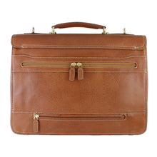 Load image into Gallery viewer, Classico Tumbled Leather Flap Brief