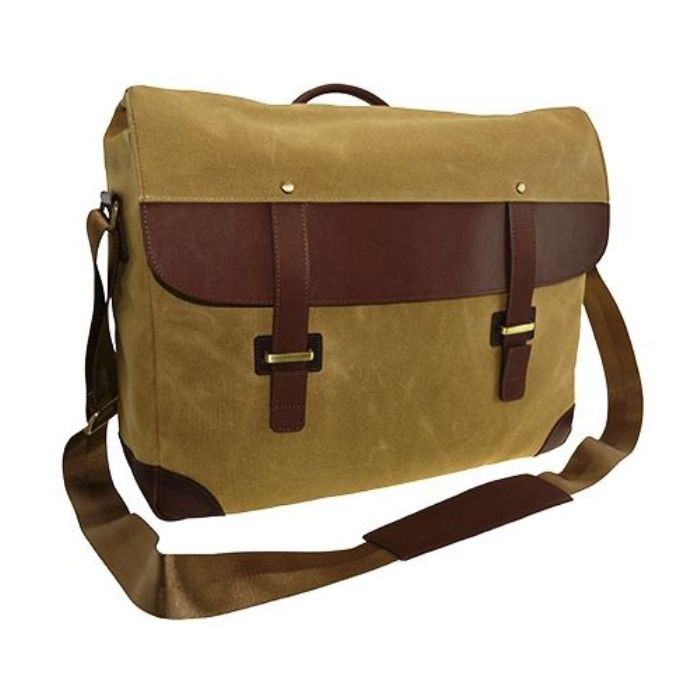 Sojourn Waxed Canvas Messenger