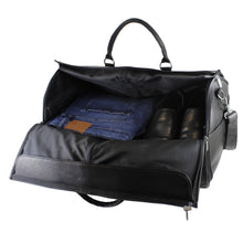 Load image into Gallery viewer, DayTrekr Leather Suiter Duffel
