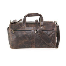Load image into Gallery viewer, DAYTREKR DISTRESSED LEATHER CARRY-ON DUFFEL