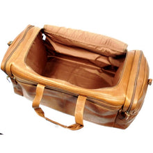 "Load image into Gallery viewer, DORADO 21"" LEATHER MULTI-POCKET DUFFEL"