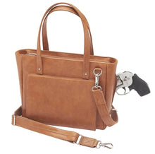 Load image into Gallery viewer, GTM Washable Leather Concealed Carry Wallet - Tote