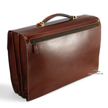 Load image into Gallery viewer, Goldpfeil Leather Flap Brief