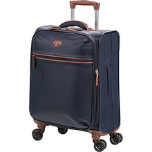 "Load image into Gallery viewer, JUMP PARIS NICE 22"" DUAL-WHEEL EXPANDABLE CARRY-ON SPINNER SUITCASE"