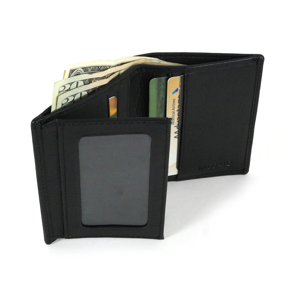ID Guardian™ Napa Leather Extra Page 2-Fold Wallet