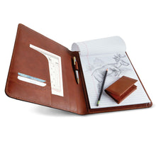 Load image into Gallery viewer, Italian Vegetable-Tanned Leather Padholder