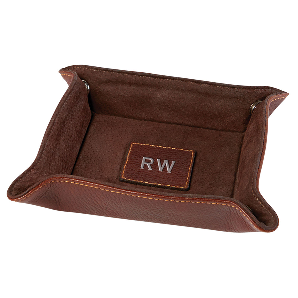 Classico Leather Snap Tray