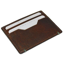 Load image into Gallery viewer, Cheyenne Water Buffalo Flat Slim Card Case