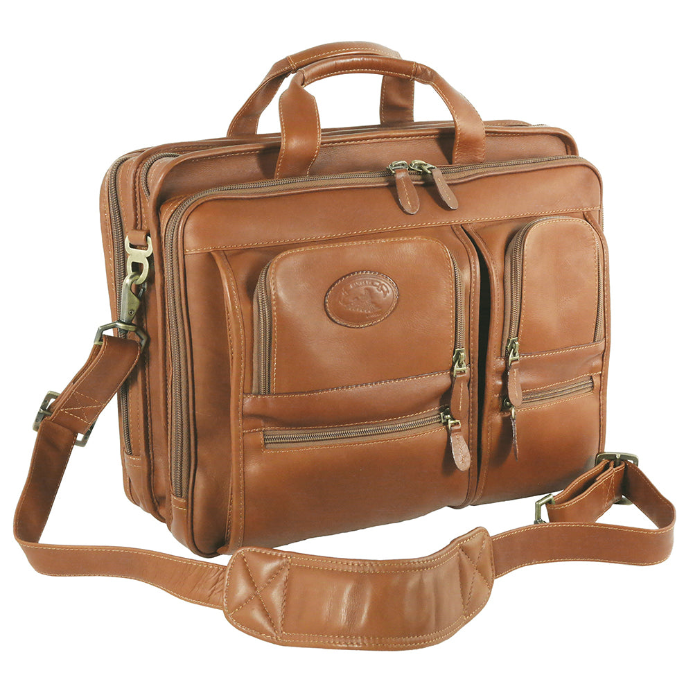 Santa Fe Deluxe Laptop Briefcase