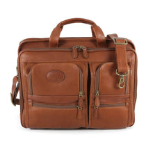 Load image into Gallery viewer, Santa Fe Deluxe Laptop Briefcase