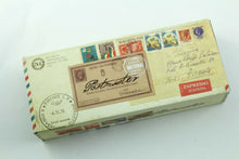 Load image into Gallery viewer, Retro 51 Postmaster Italia Rollerball Pen with Brown Sleeve - RARE!