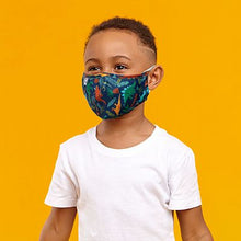Load image into Gallery viewer, STEPHEN JOSEPH KIDS ALL OVER PRINT ACCESSORIES  - KID SIZED FACE MASKS