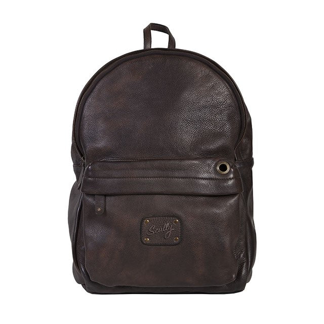 Scully Antique Leather Backpack