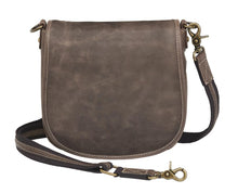 Load image into Gallery viewer, GTM Leather Concealed Carry Simple Distressed Buffalo Pouch