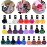 10ml 25 Colors Painting Template Stamping Printing Print Nail Art Vanish Polish Lacquer