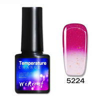 Glitter Gel Polish Shining Sequins Long Lasting Soak Off 8ML UV Nail Gel Colorful Neon Nail Art Gel Varnish