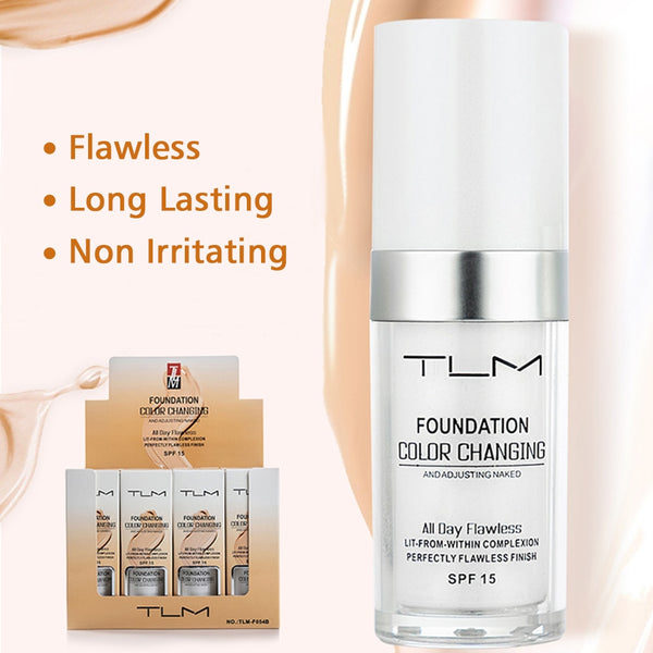 Color Changing Liquid Foundation Concealer