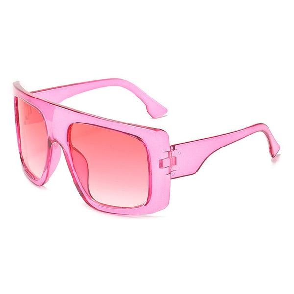 One Piece Shield Square Sunglasses