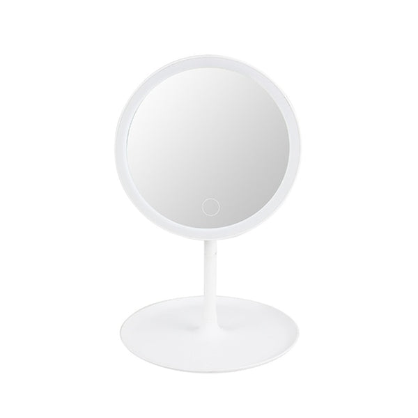 USB Charging LED Makeup Mirror 15.6cm Portable Detachable Touch LED Vanity Mirror with led Light