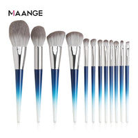 MAANGE 12pcs High Quality Brushes Set