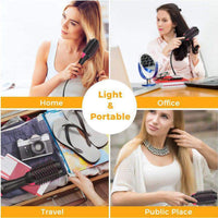3 IN 1 One Step Hair Dryer Hot Air Brush Hair Straightener Comb Curling Brush Hair Styling Tools Hair Dryer Brush