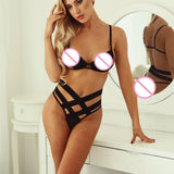 Bandage Bra and Pantie Set
