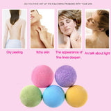 5pc Bath Bombs Ball
