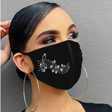 Fashion Masks Rhinestone Glitter Mask