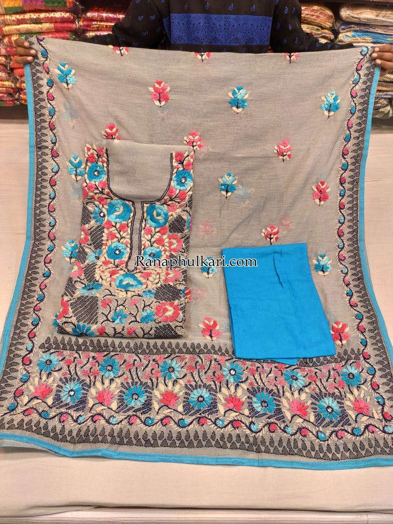 Kantha Work Suit