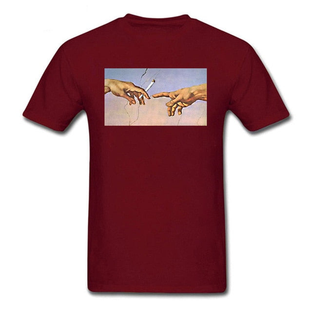 Michelangelo cigarette t shirt