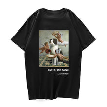 Load image into Gallery viewer, Renaissance cat t shirt