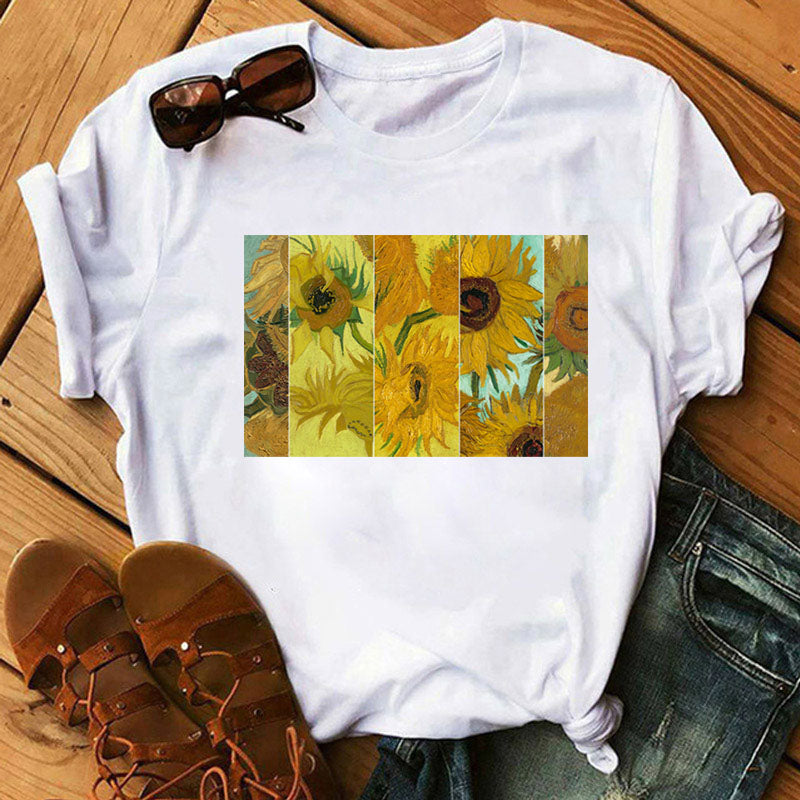 Sunflower Printed Tshirt