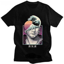 Load image into Gallery viewer, Retro Vaporwave Tshirt