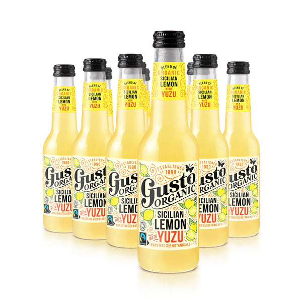 Gusto Organic  Sicilian Lemon with Yuzu