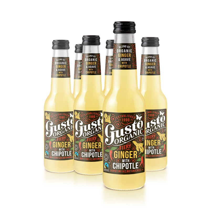 Gusto Organic Fiery Ginger with Chipotle