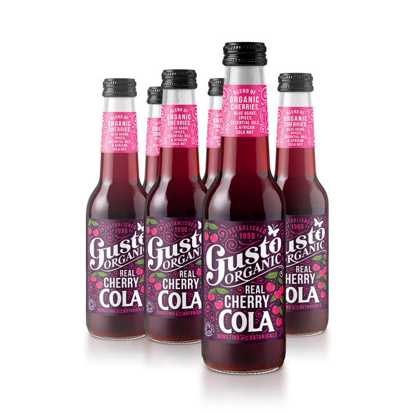 Gusto Organic Real Cherry Cola