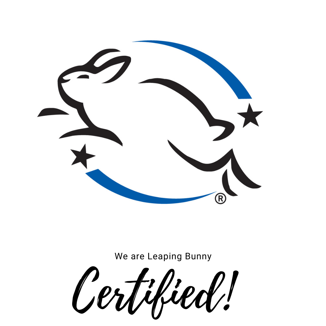 Leaping Bunny Certified - Ashley Kennedy