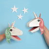 Create Your Own Unicorn Puppets (age 5+)