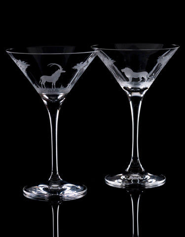Fathers Day - Martini Glasses