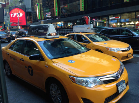 New York - Top Travel Tips - New York Taxis