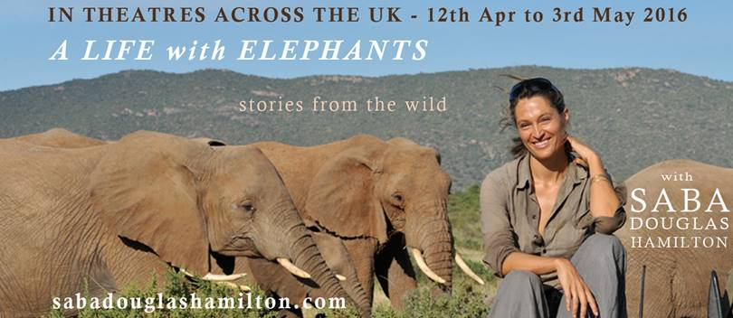 A Life With Elephants - Saba Douglas-Hamilton