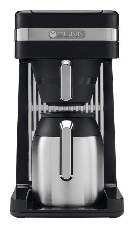 BUNN  Speed Brew  10 cups Black/Silver  Coffee Maker