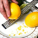 Stainless Steel Cheese Grater Lemon Zester Fruit