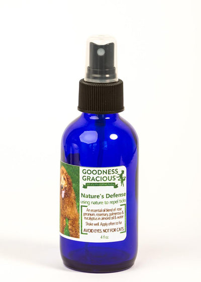 Goodness Gracious All Natural Nature's Defense Tick Repel for Dogs 4oz.