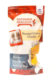 Goodness Gracious Human Grade Roasted Chicken Cheddar Dog Treats