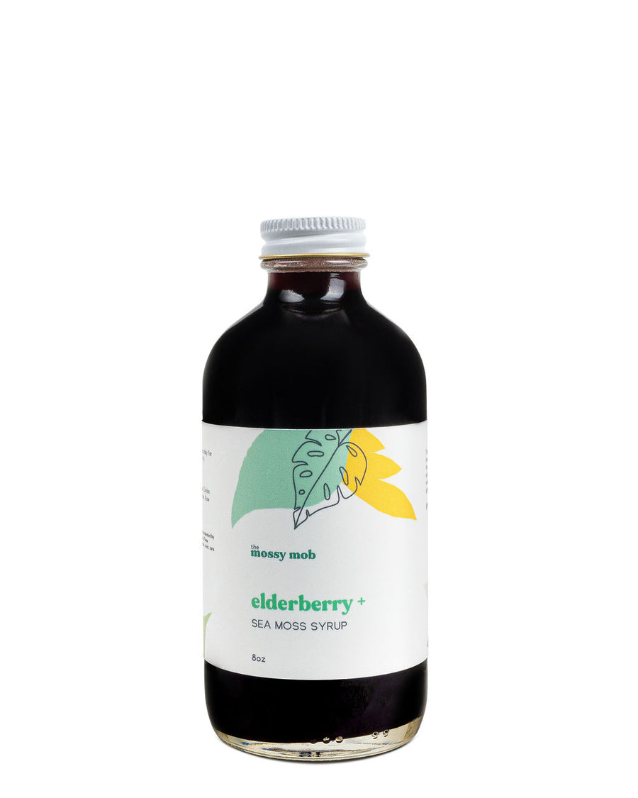 Elderberry + Sea Moss Syrup